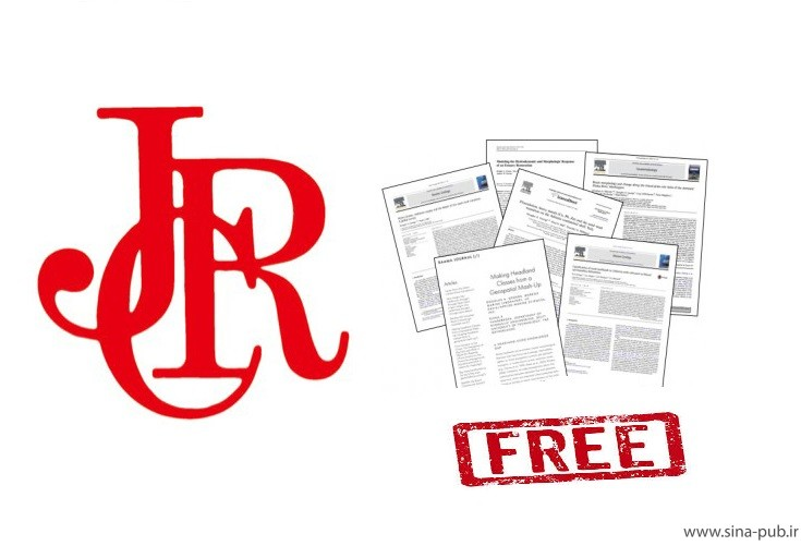 چاپ رایگان مقاله در مجلات JCR