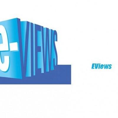 طرز کار با نرم افزار  Eviews